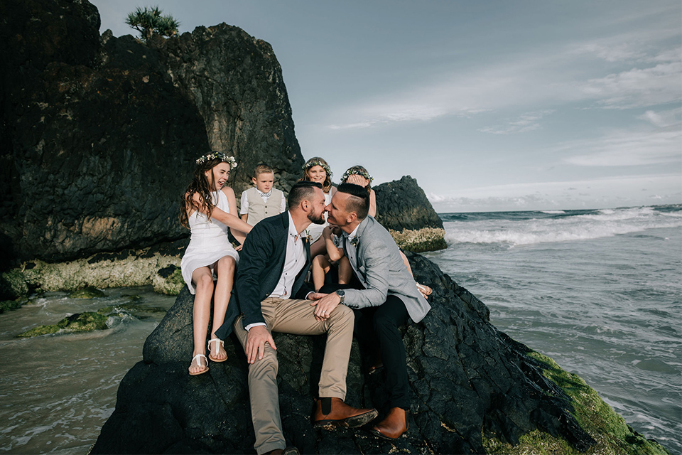 Tweed Coast Gay Weddings - Hitched In Paradise