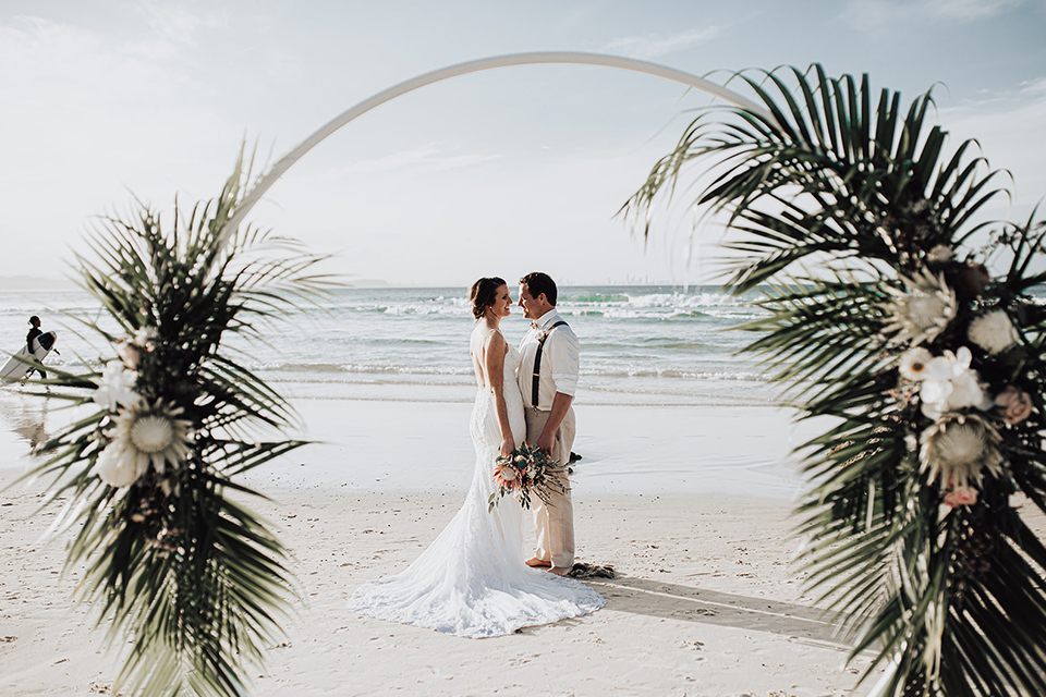 Gold Coast Elopement - Coolangatta Beach Wedding - Hitched In Paradise