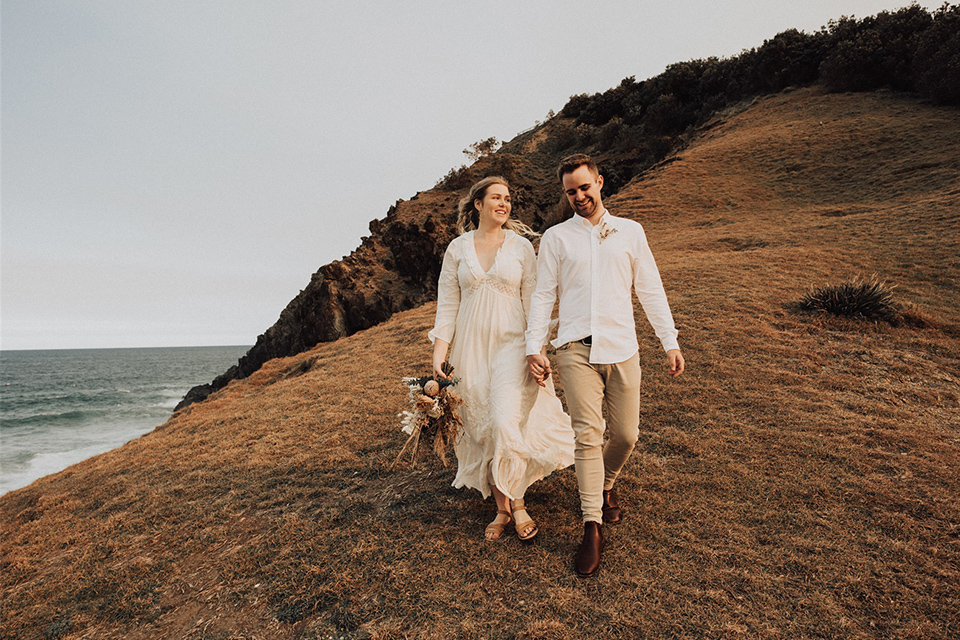 Little Wategos Elopement - Jack & Holly - Byron Bay