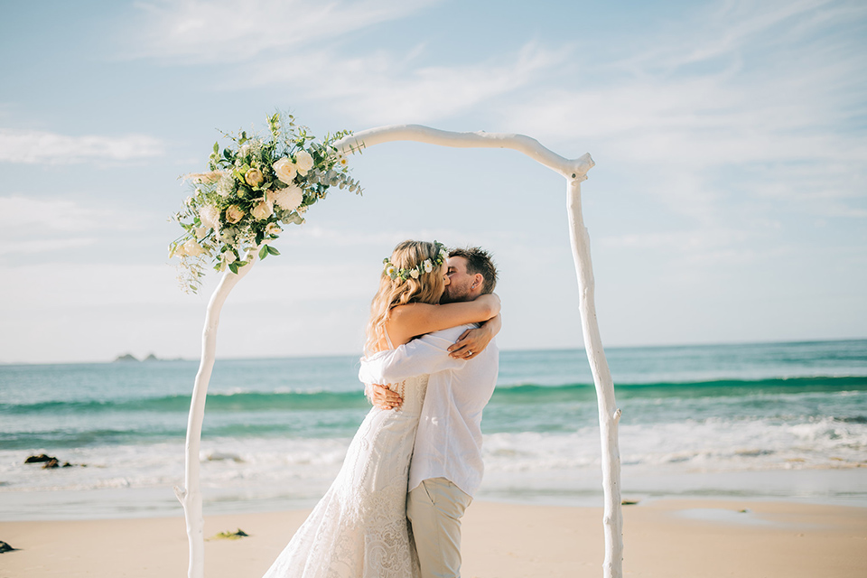 Watego's Beach Elopement - Jenna & Jake - Byron Bay