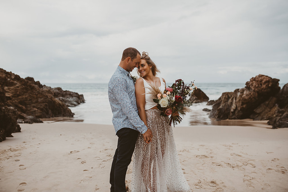 The Pass - Joe & Jess - Byron Bay Elopement