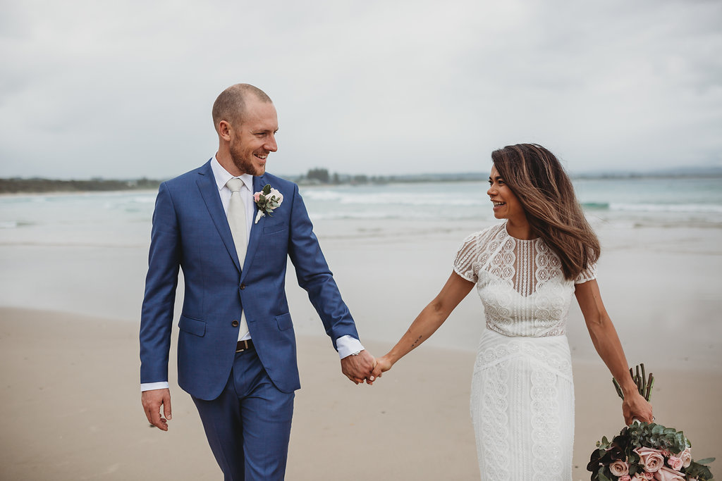 Kristal & Nick - The Pass - Byron Bay Elopement