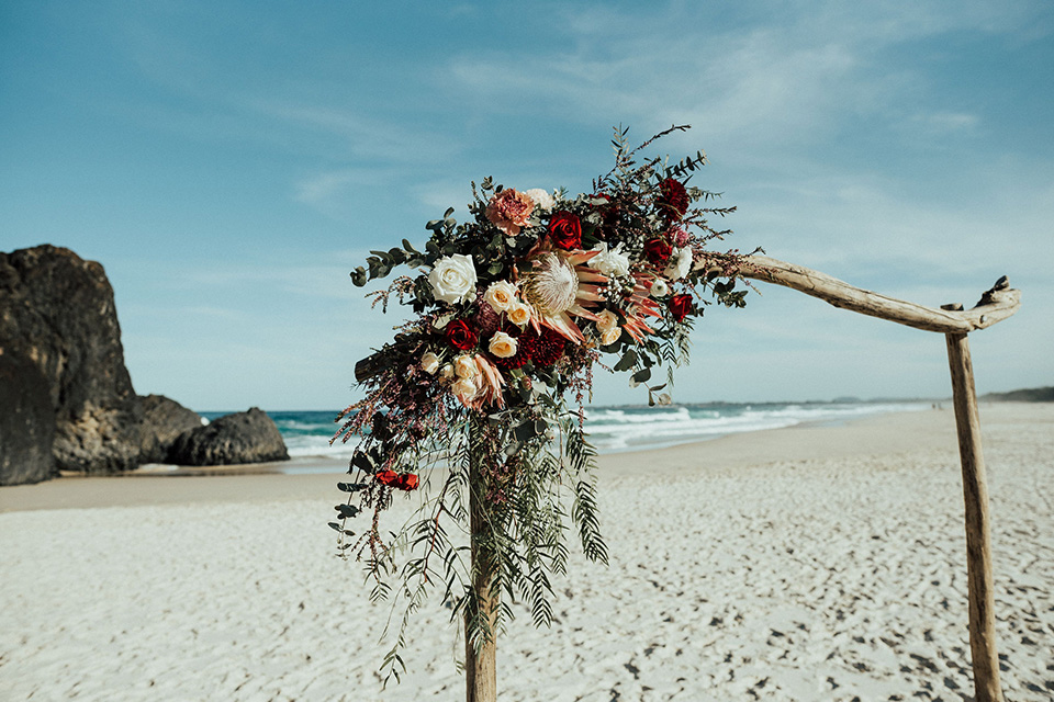 Tweed Coast Elopement - Hitched in Paradise - Fingal Beach Weddings