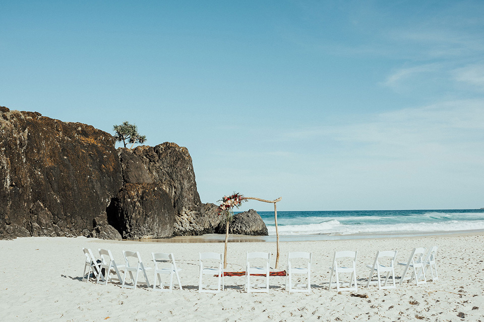 Tweed Coast Elopement - Hitched in Paradise - Fingal Beach Wedding