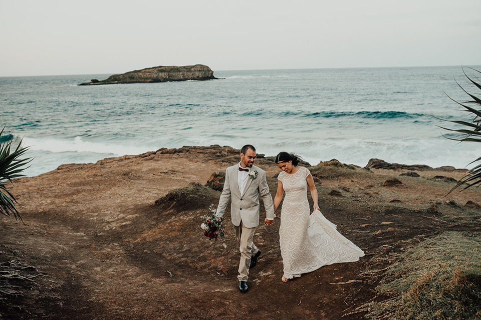 Dreamtime Beach Elopement - Steph & Mitch - Tweed Coast Wedding