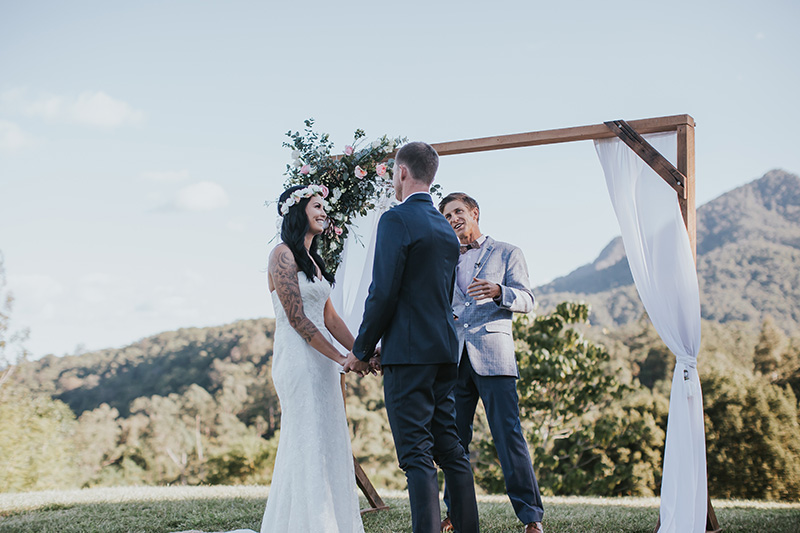 Mavis Kitchen Elopement - Tahnee & Bobby - Tweed Hinterland Bliss