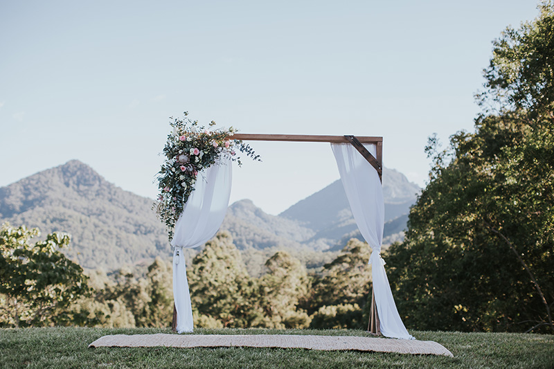 Mavis Kitchen Wedidng - Hitched in Paradise - Tweed Coast Elopement