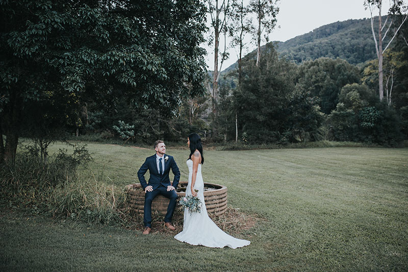 Bobby & Tahnee - Tweed Hinterland Elopement - Hitched in Paradise