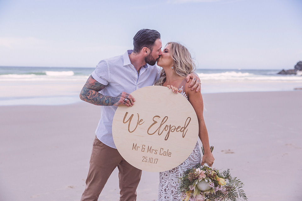 Byron Bay Elopement - Tim & Chantelle